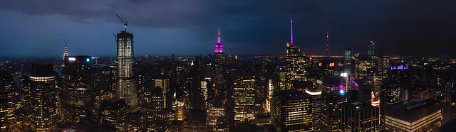 New York City Top View...