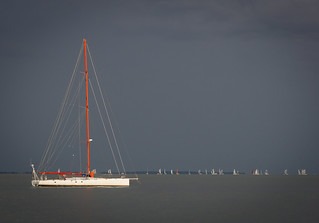 Sailboat on the Severn River