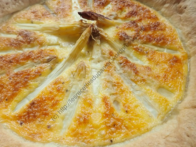 Tourte aux asperges / White Asparagus Pie