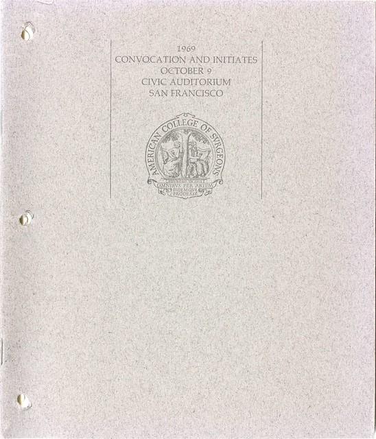 1969 Convocation Book