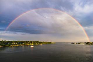Rainbow Over Annapolis