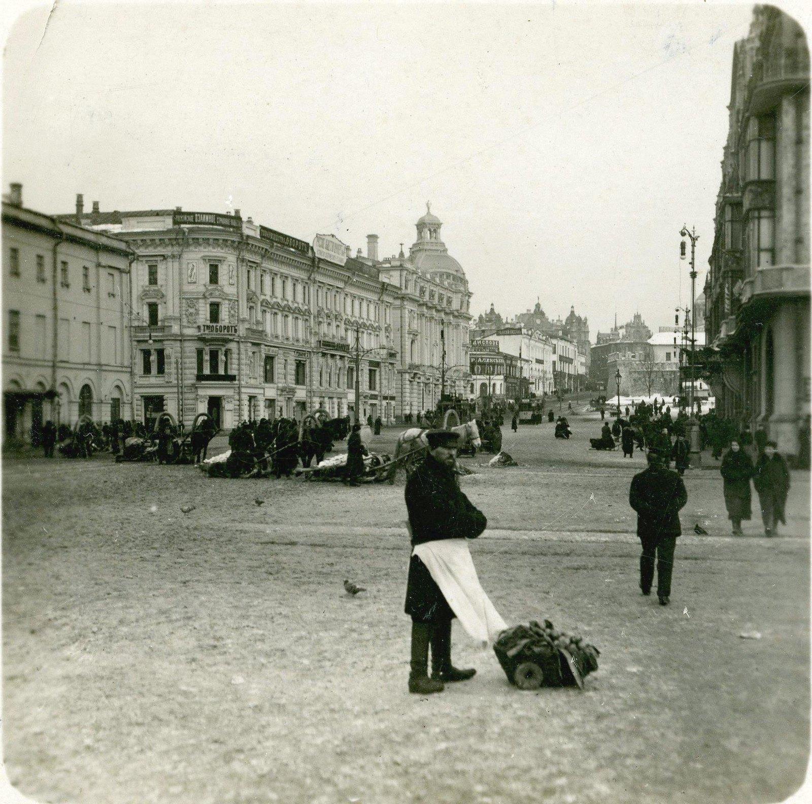 Театральный проезд. 1905