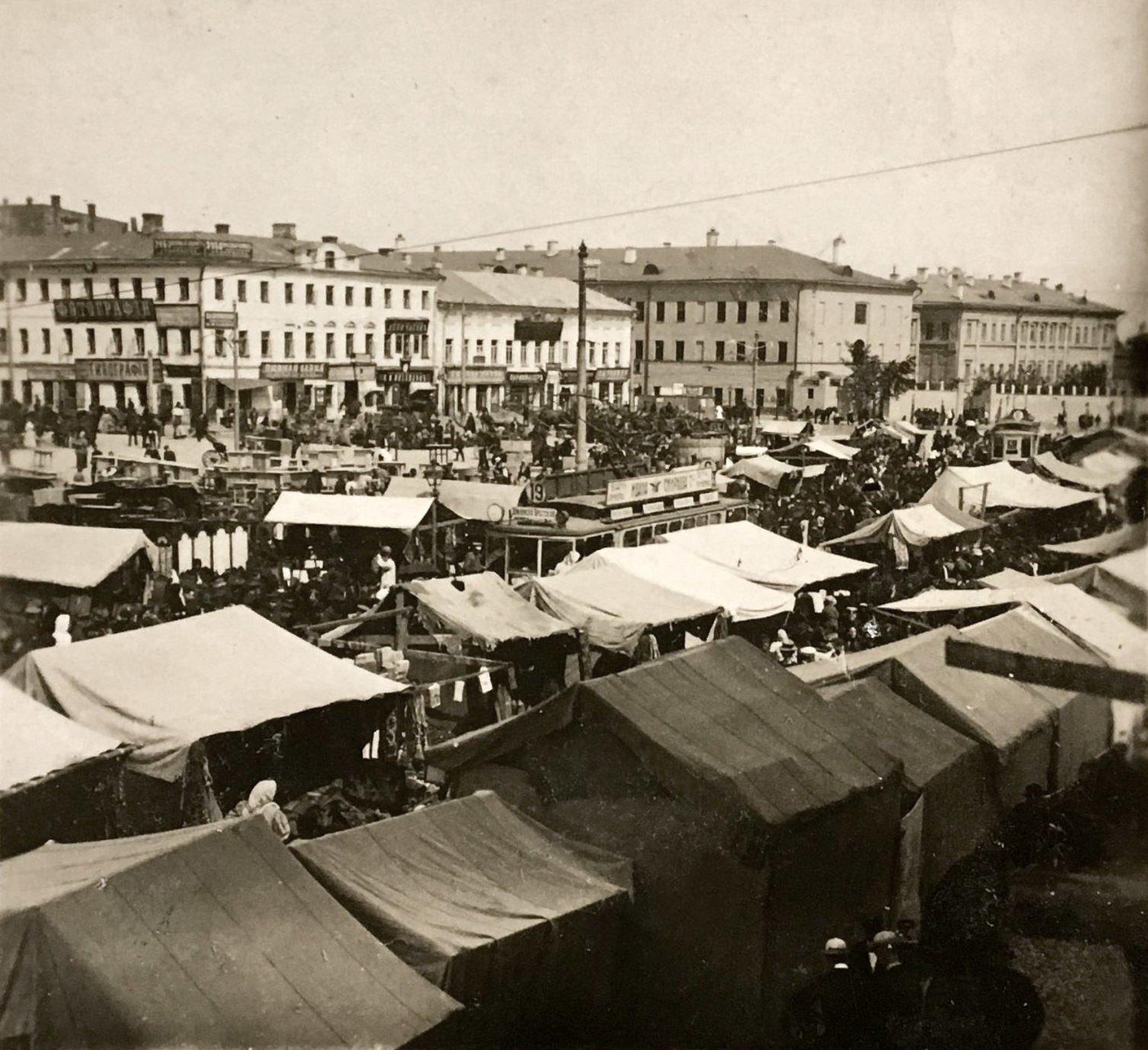 Большая Сухаревская площадь. 1912