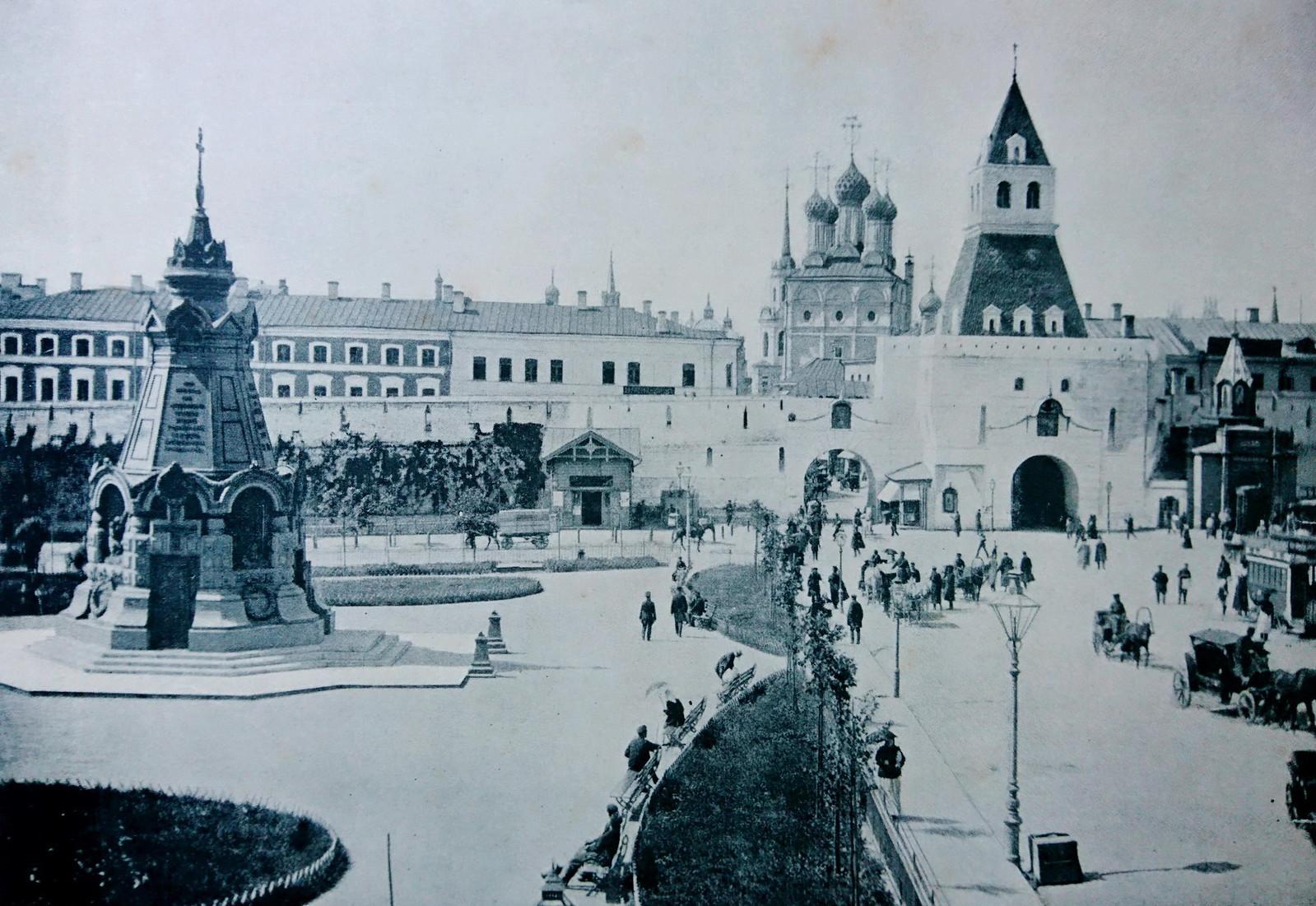 Памятник героям Плевны. Ильинские ворота. 1890