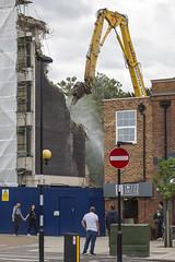 Capitol House Demolition