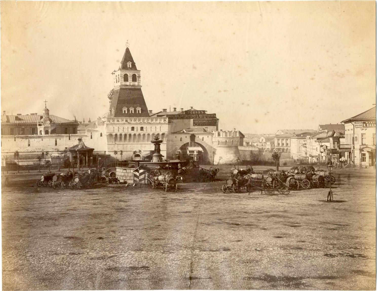 Лубянская площадь 1870-е