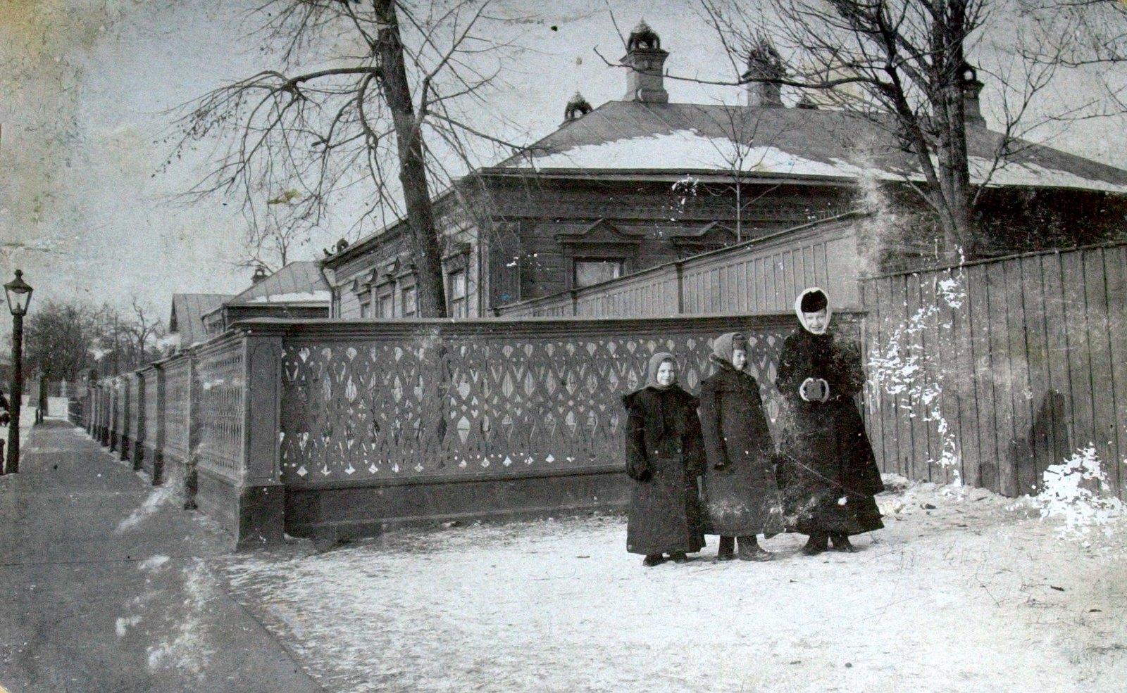 2-й Щипковский переулок. 1902