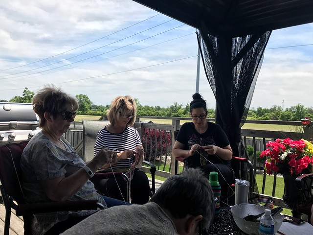 Sue2Knits World Wide Knit in Public Day 2019 was a great success!