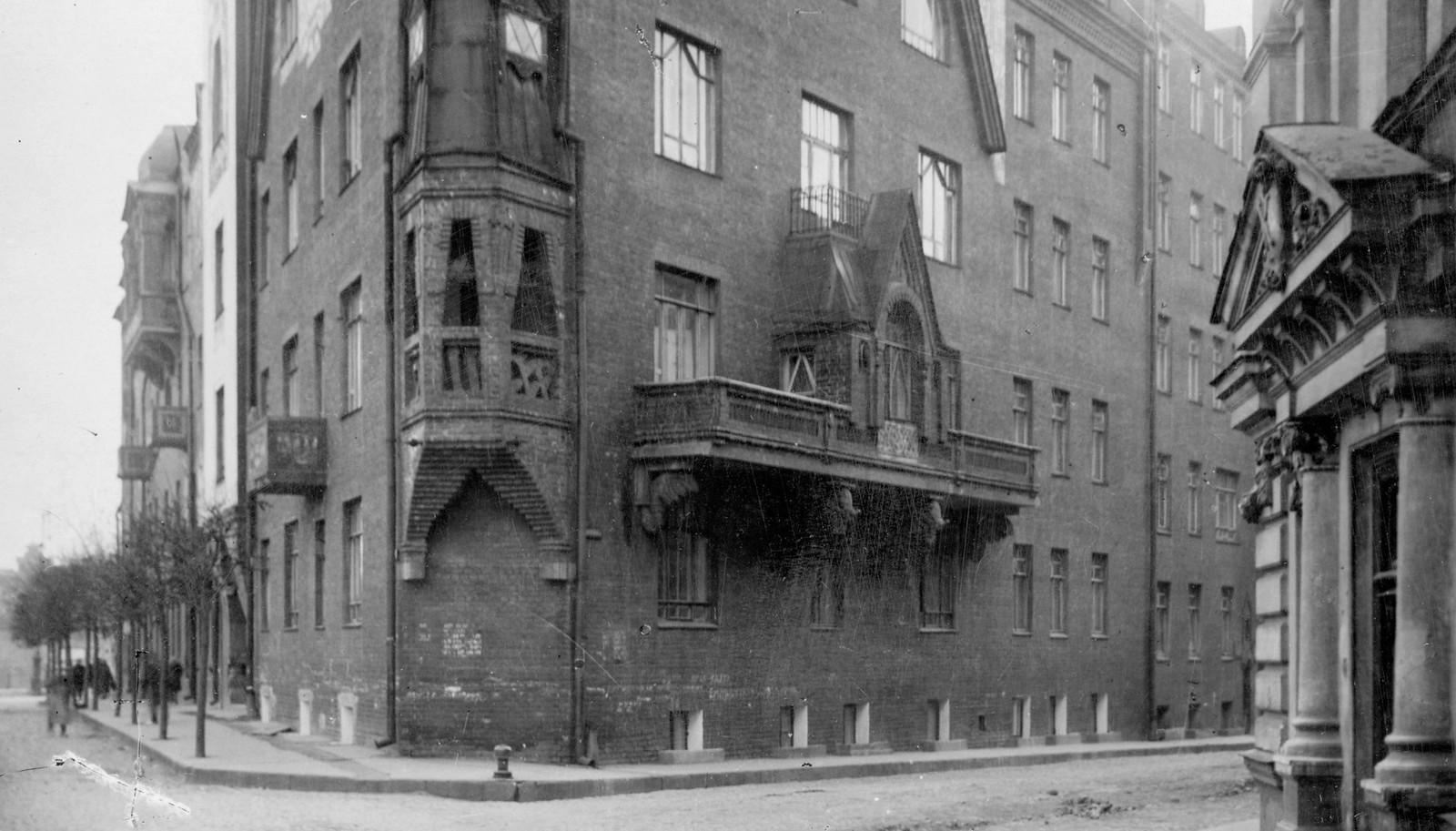 Дом Перцова. 1913
