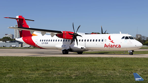 Avianca Argentina ATR72-600 (1) (Gustavo Martínez)