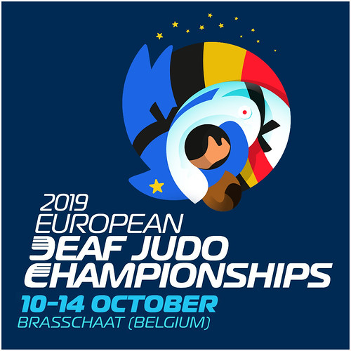 """""""European Deaf Judo Championships"""" 2019 - Brasschaat (Belgium)"""