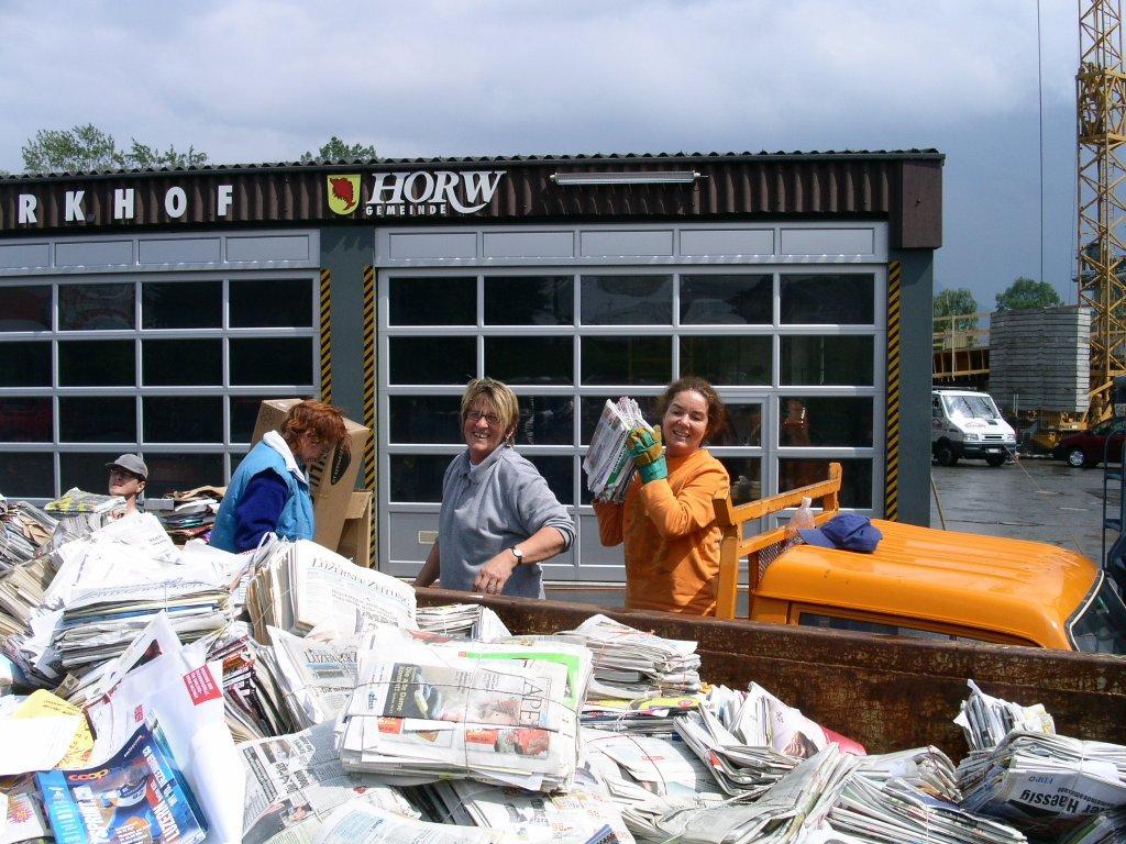 2004-06-05 Papiersammlung
