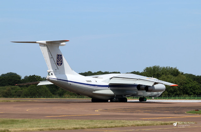 78820 Ilyushin Il-76MD Midas, Ukrainian Air Force, RAF Fairford, Gloucestershire