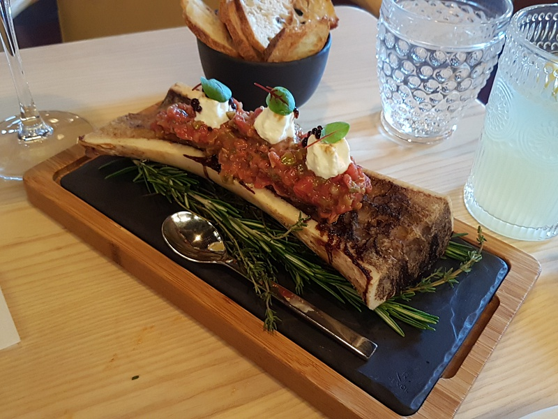 bone marrow tartare Madrina Bar