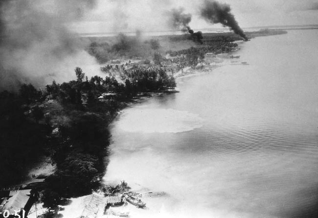 Attack on Kavieng, New Ireland