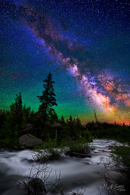 Milky Way over Milky Water - Grand Teton National Park, Wyoming