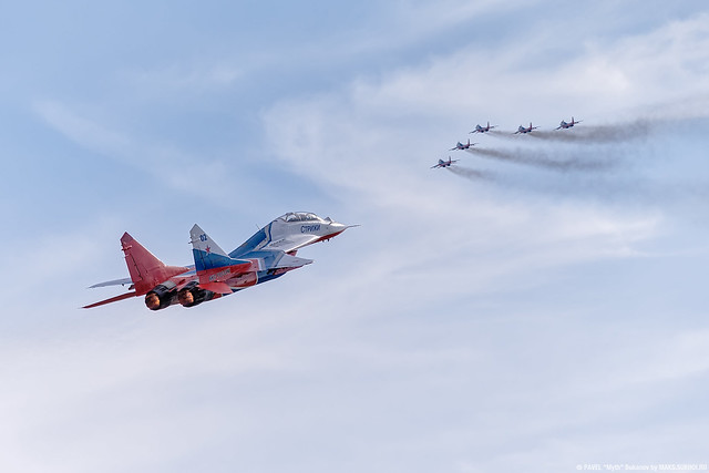 MiG-29 aerobatic team