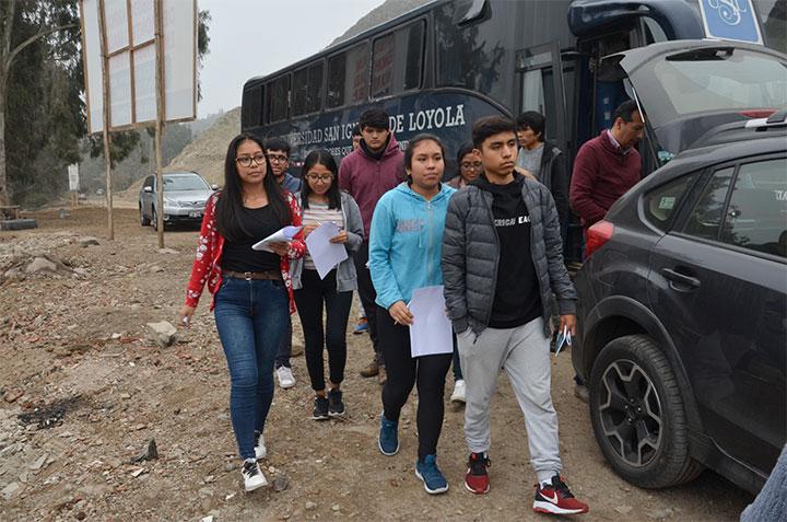 Escolares participaron en una jornada ambiental de USIL en Lurín y Pachacámac