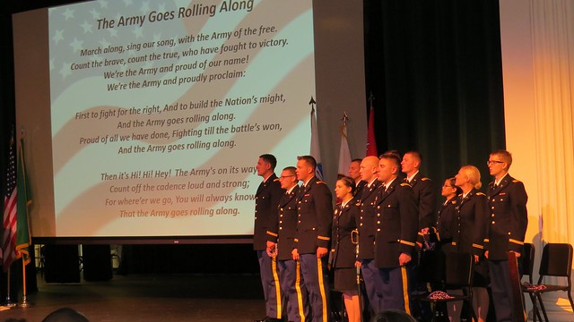 "EWU ROTC ""Fighting Eagles"" Battalion Commissions 12 Second"
