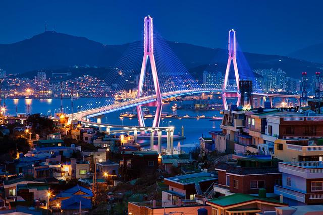 Busan Harbor Bridge