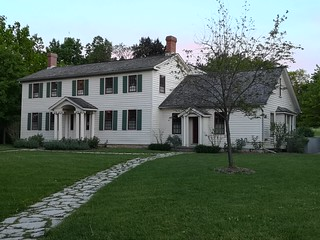 Grandview (Nash-Jackson House) at the Battlefield House Museum & Park National Historic Site - Stoney Creek, Ontario.