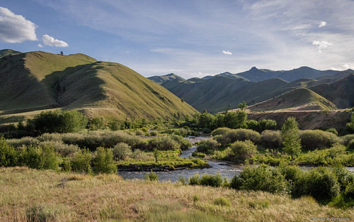Confluens of Panther and Clear Creeks - Idaho