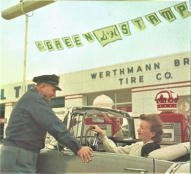 Werthmann Bros. Tire Co. 1958