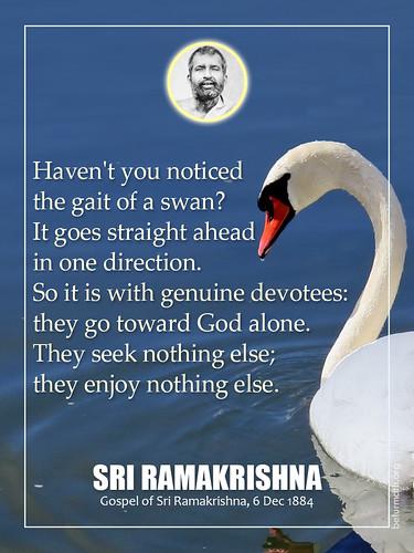 Sri Ramakrishna Quotation
