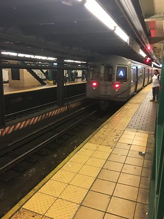 NYC Subway R68 Leaving 125th Street Station 1 | by Missabassie