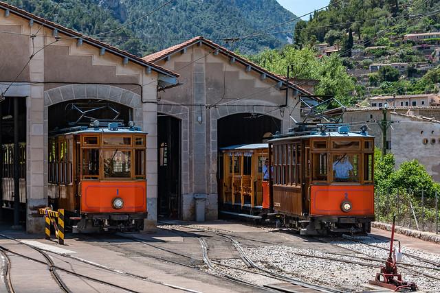Mallorca - Soller - Straßenbahn 893