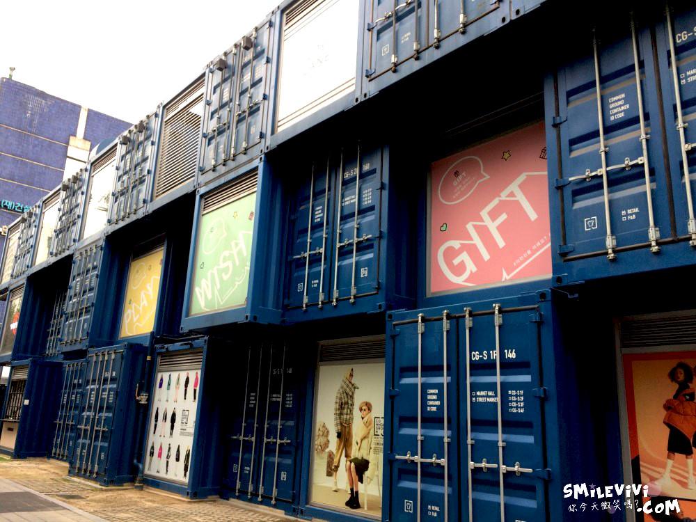 首爾∥新景點貨櫃市集!!!建大(건대)入口COMMON GROUND藍色貨櫃屋市集(커먼그라운드)