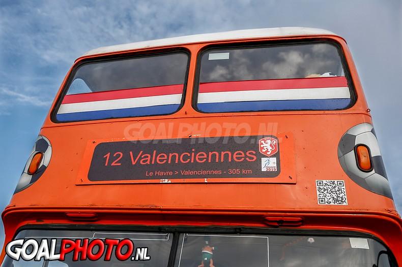 15-06-2019 Oranjefans opweg naar Valenciennes
