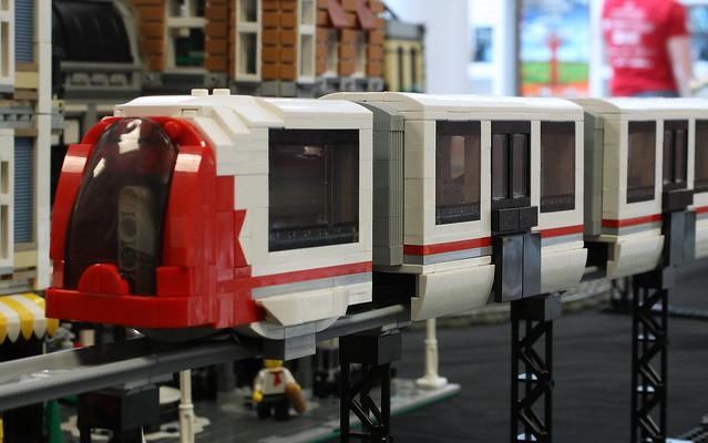 LLRT LEGO Light Rail Transit System