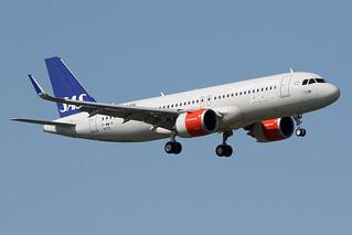 SAS  Scandinavian  Airlines / Airbus   A 320 NEO   F-WWIR   msn 9032 / LFBO - TLS / juin 2019