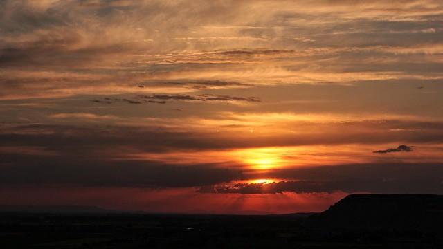 Zaragoza's sky
