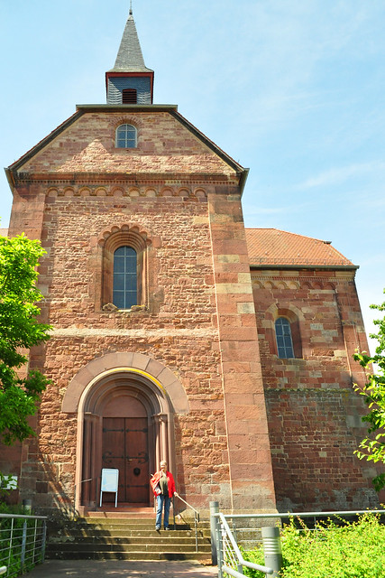 Juni 2019 ... Klosterkirche Lobenfeld ... Foto: Brigitte Stolle