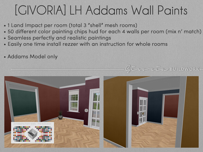 Linden Home Addams Wall Paints