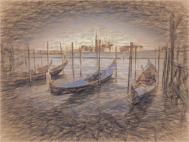 Digital Sketch Venice