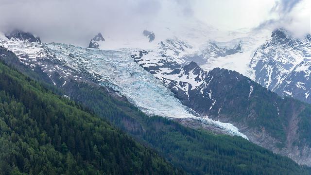Glacier des Bossons Panorama