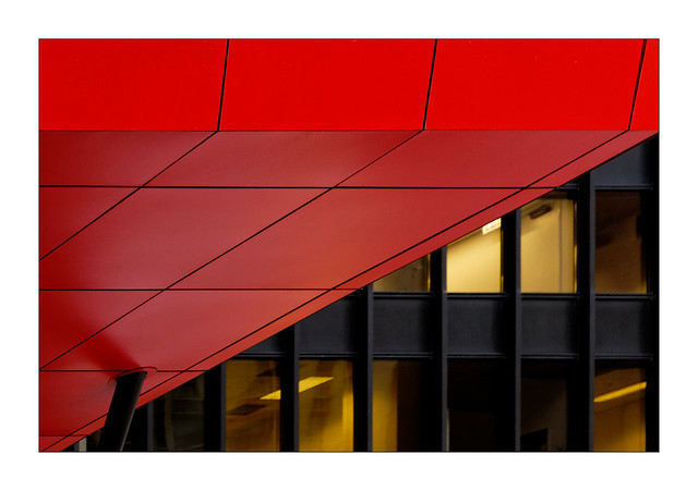 Diagonale rouge