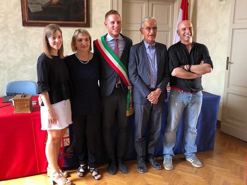 La nuova giunta comunale di Castel Bolognese
