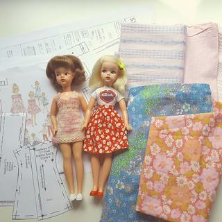 Looked through my fabrics...