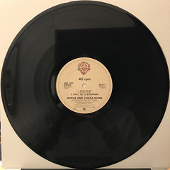 RUFUS AND CHAKA KHAN:AIN'T NOBODY(RECORD SIDE-B)