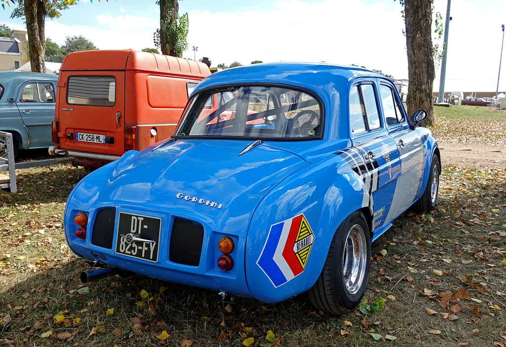 Renault Dauphine Gordini 1963 Modified Opron Flickr