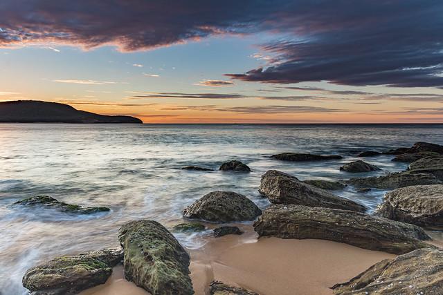 Coastal Sunrise Seascape