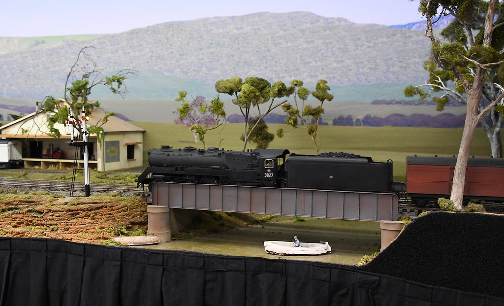 3827, Arakoola, Epping Model Railway Exhibition, Rosehill, Sydney, NSW.