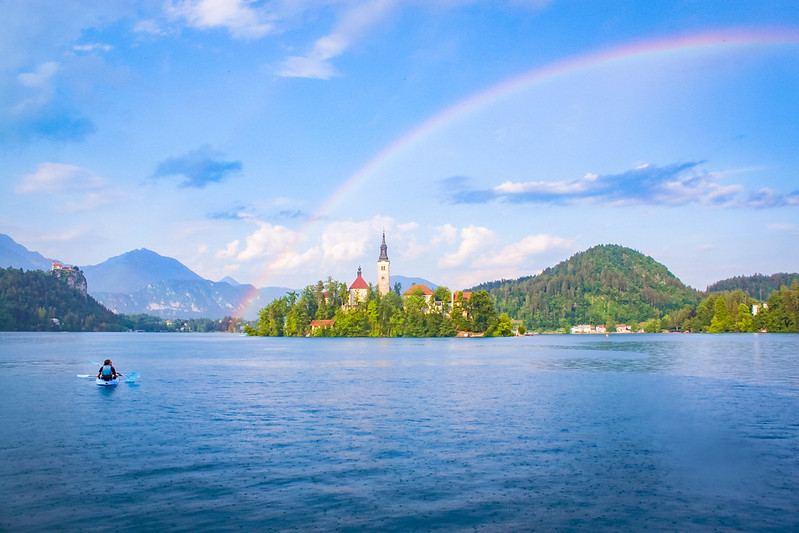 Glamping in Bled