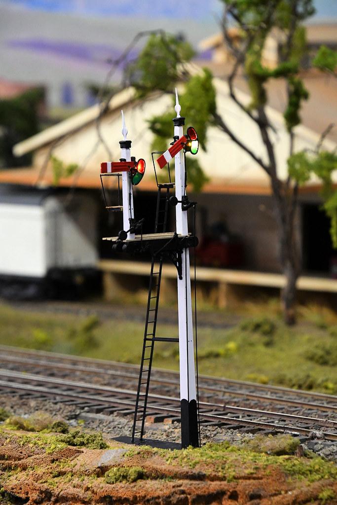Signal, Arakoola, Epping Model Railway Exhibition, Rosehill, Sydney, NSW.