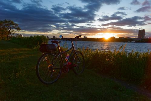boston brooks brooksbos evening geotagged landscape light massachusetts newengland reflections summer sky skyline water nikon