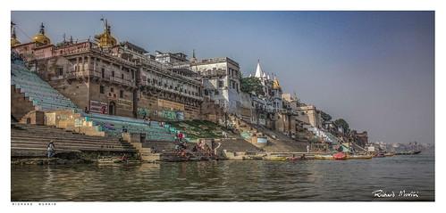 On Janki Ghat by the Ganges, Varanasi, India.